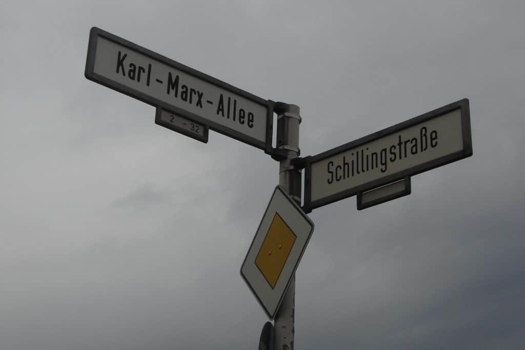 | Karl Marx Allee | MR Online