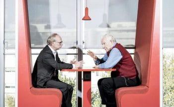 Alain Badiou debates Laurent Joffrin