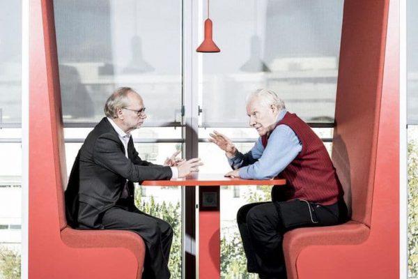 Laurent Joffrin and Alain Badiou