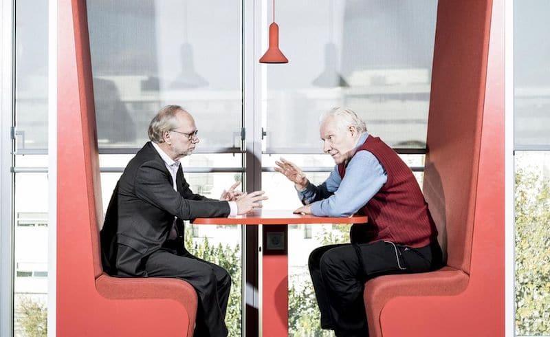 | Laurent Joffrin and Alain Badiou | MR Online
