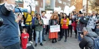 Protest photo (Photo Credit: Amy Osika)