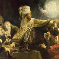 Rembrandt Belsazar
