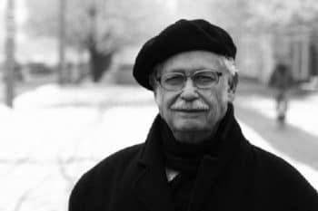 Victor Grossman in Berlin in November 2009
