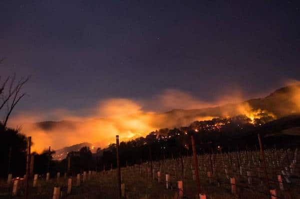 U.S. WILDFIRES CALIFORNIA