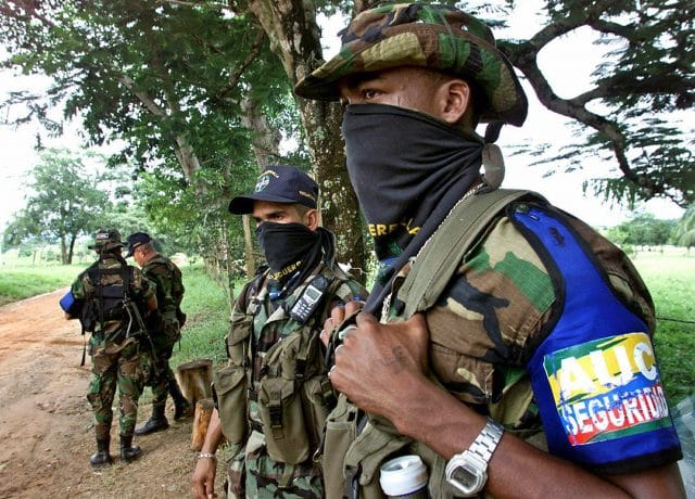 Chiquita pled guilty to paying paramilitary groups including the AUC