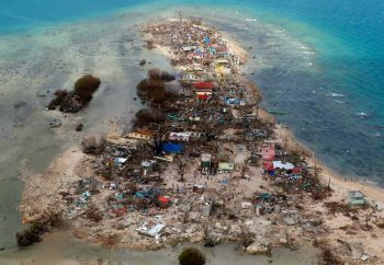 A view of Guiwan, Samar (Philippines) after Super Typhoon Yolanda
