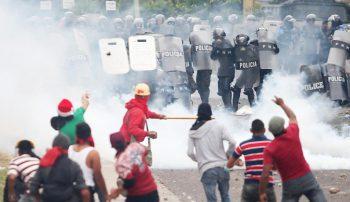 Honduras movement.