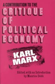 Critique of Political Economy