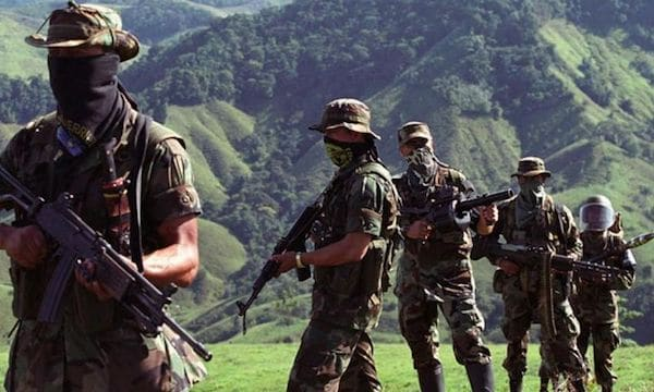 Paramilitaries on the Colombia-Venezuela border