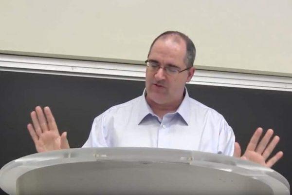 Jason W Moore at BInghamton University in July 2017