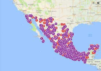 | Map of Femicides in Mexico that have been reported by the press Feminicidios ocurridos en México reportados en la prensa | MR Online