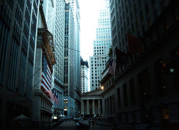 Wall Street. (Henry Han / Wikimedia Commons)