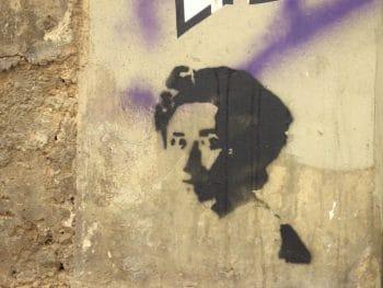 Rosa Luxemburg graffiti in Athens / Image: Flickr, aestheticsofcrisis