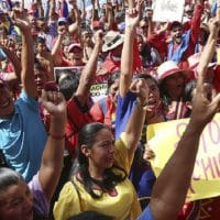 Indigenous peoples march against imperialism