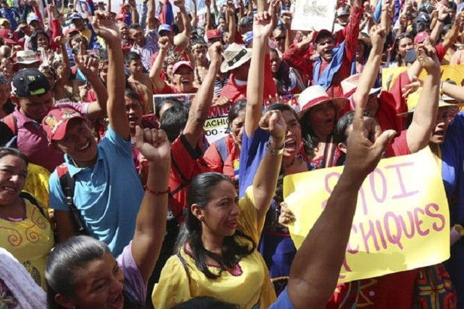 | Indigenous peoples march against imperialism | MR Online