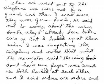Testimony of Lt. J. Quin
