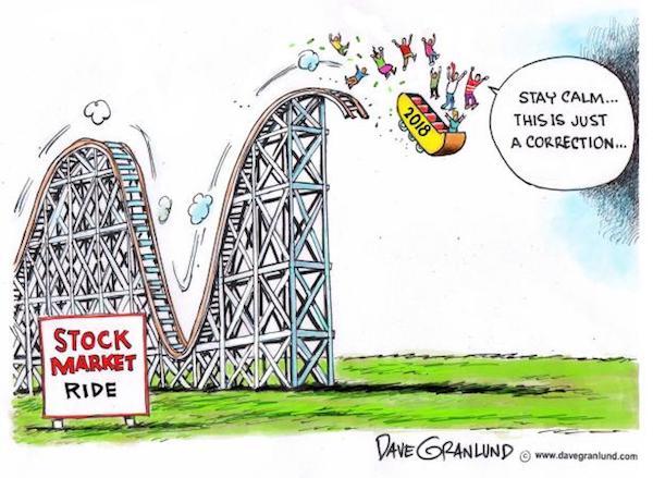 Stock market ride