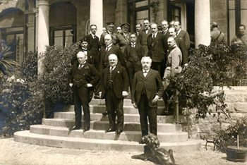 The Conference of Genova in 1922