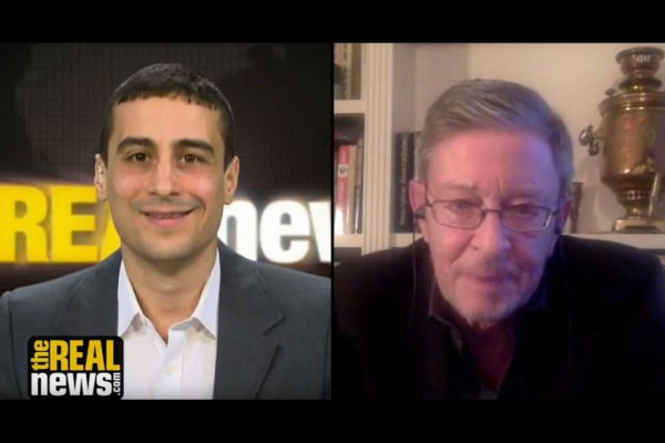 Aaron Mate interviews Professor Stephen F. Cohen on the Real News Network