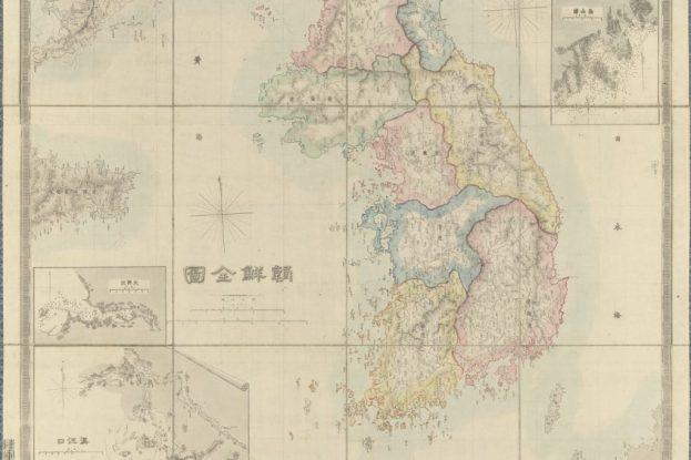 Chōsen Zenzu (Korean Peninsula)