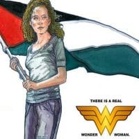 Ahed Tamimi as Wonder Woman