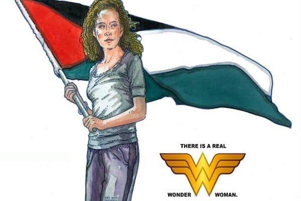 Ahed Tamimi as Wonder Woman
