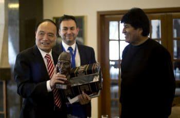Evo Morales, Houlin Zhao