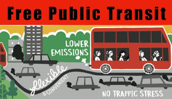 Image result for public transit should be free