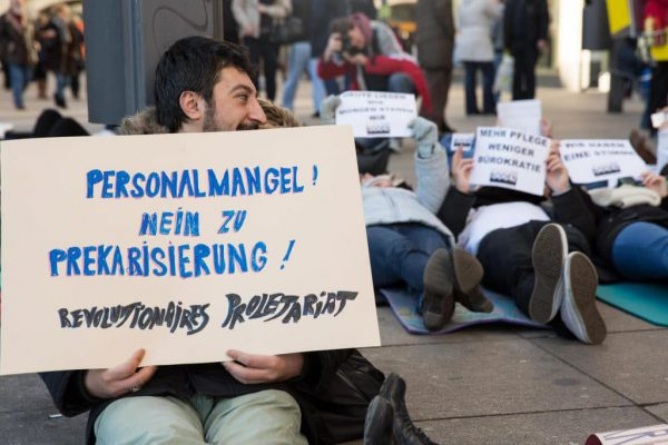 Labor protest in Germany