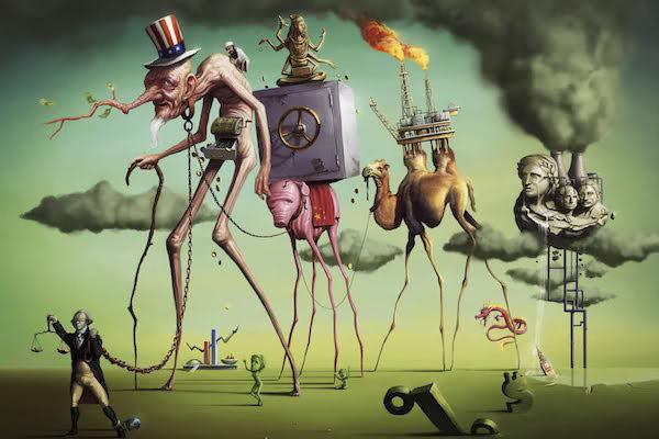 Neoliberalism (Photo credit: Tiago Hoisel)