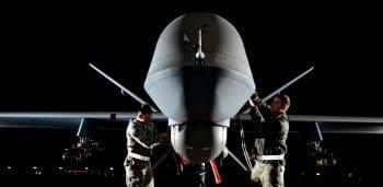 An Air Force RPA reconnaissance drone