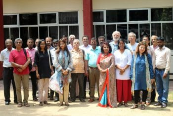 Participants to the 7th South Asian CADTM regional meeting (Colombo 6 - 8 April 2018)