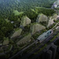 China Starts Construction on World's First Forest City