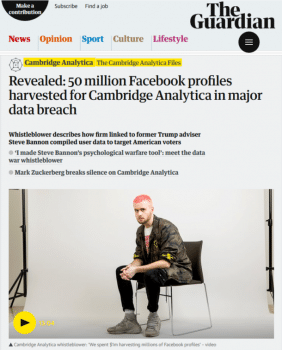 Guardian Cambridge Analytica