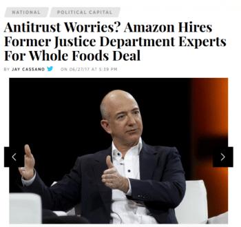 IBT Amazon Antitrust