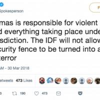 IDF tweet