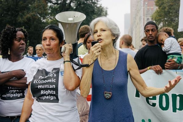 Green Party candidate Jill Stein believes third parties, including the Green Party, are key to curing what ails democracy.