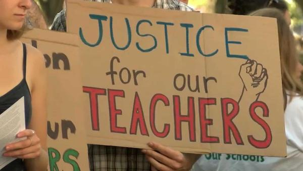 Justice for our teachers (Photo: necn.com)