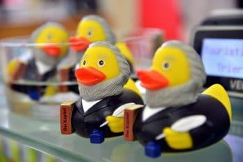 Marx themed rubber ducks