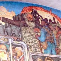 Marx mural