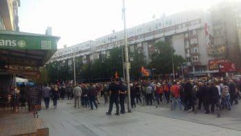 Nationalist rally in Skopje