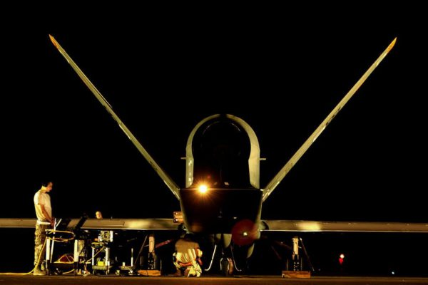 Northrop Grumman RQ-4 Global Hawk unmanned (UAV)