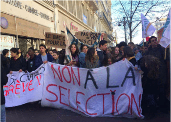 The March 22 protest in Paris over cuts, labour rights and privatisation