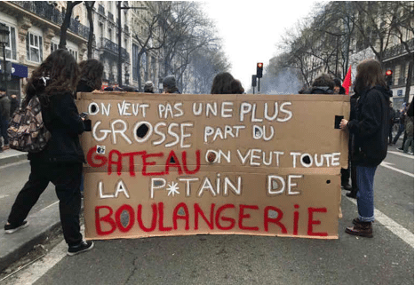 March 22 protest in Paris over cuts, labour rights and privatisation
