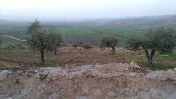 Trench on the northern border of Afrin