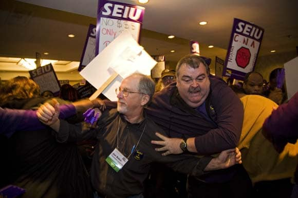 | Service Employees Dispute with California Nurses Turns Violent at Labor Notes Conference April 12 2008 | MR Online