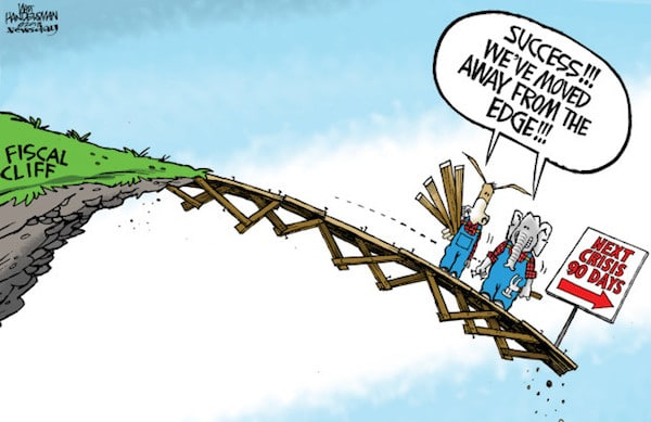 Editorial cartoon: Living on the edge | Opinion Northwest | Seattle Times