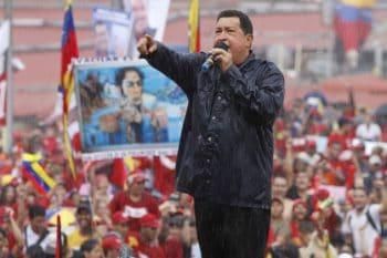 Chávez speaking at the closing of the 2012 presidential campaign (Photo: AVN)