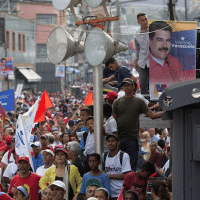 | Supporters of President Nicolas Maduro attend a campaign rally in the parish of Catia in Caracas Venezuela Friday May 4 2018 Venezuelans will vote for a new president in the upcoming presidential elections on May 20 APAriana Cubillos | MR Online
