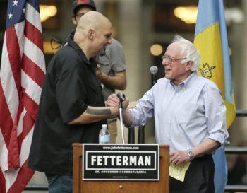 Fetterman and Sanders